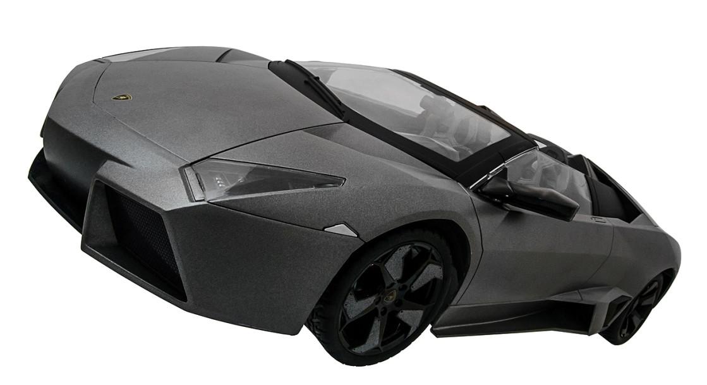 Машинка на радиоуправлении 1к10 Meizhi лицензированный Lamborghini Reventon. серый