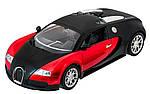 Машинка на радиоуправлении 1к14 Meizhi Bugatti Veyron. красный, фото 2