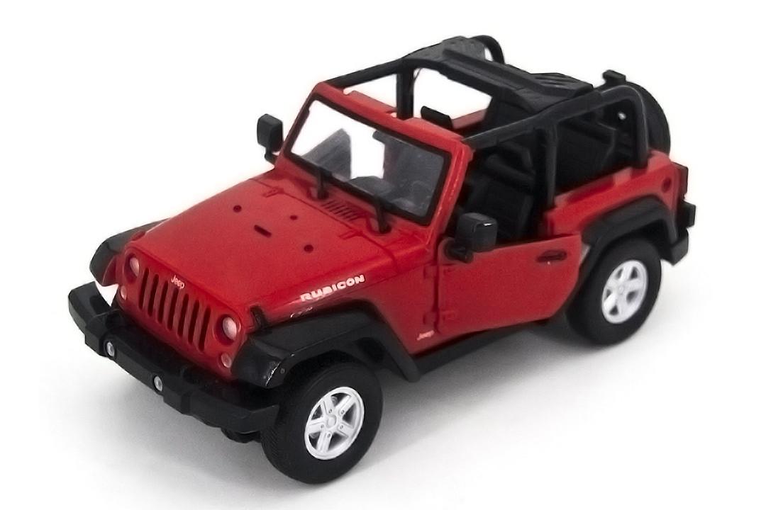 Машинка на радиоуправлении 1к14 Meizhi Jeep Wrangler. красный