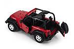 Машинка на радиоуправлении 1к14 Meizhi Jeep Wrangler. красный, фото 2