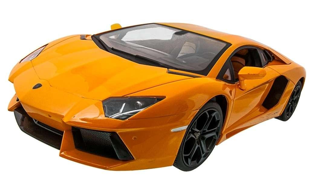 Машинка на радиоуправлении 1к14 Meizhi лицензированный Lamborghini LP700. желтый