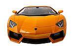 Машинка на радиоуправлении 1к14 Meizhi лицензированный Lamborghini LP700. желтый, фото 5