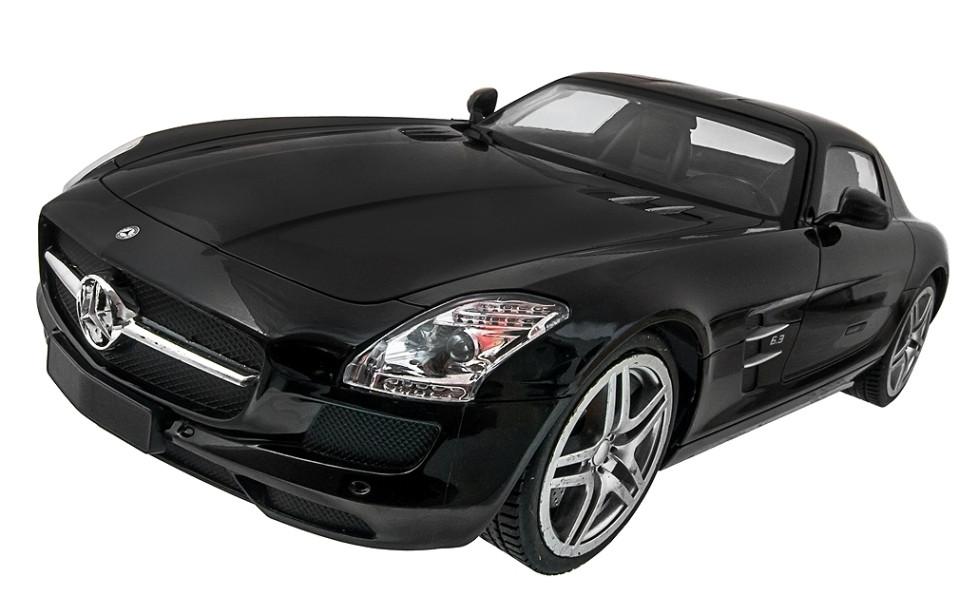 Машинка на радиоуправлении 1к14 Meizhi лицензированный Mercedes-Benz Sls AMG. черный