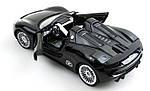 Машинка на радиоуправлении 1к24 Meizhi лицензированный Porsche 918 металлическая. черный, фото 4