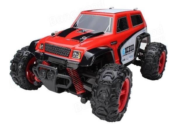 Машинка на радиоуправлении 1к24 Subotech CoCo Джип 4WD 35 км/час. красный