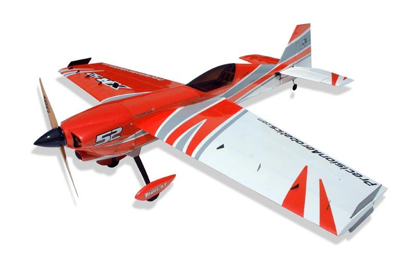 Самолёт на радиоуправлении Precision Aerobatics XR-52 1321мм KIT. красный