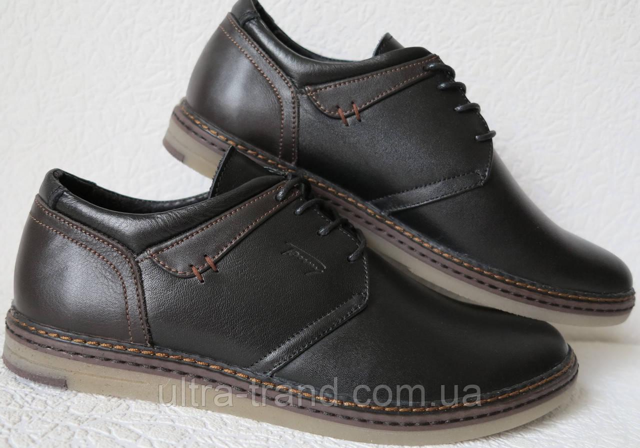 Tommy Hilfiger мужские черно коричневые кожаные мужские  casual туфли