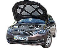 Газовый упор капота (амортизатор капота) для Skoda Octavia A7 / Шкода Октавия А7 (2013+)