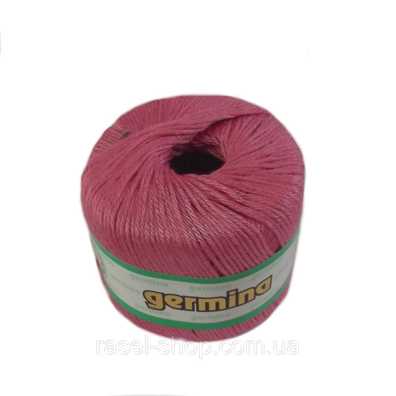 Летняя пряжа Madame tricote oren bayan germina 202 для ручного вязания