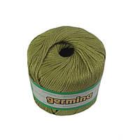 Летняя пряжа Madame tricote oren bayan germina 211 для ручного вязания