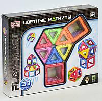 Магнитный конструктор для детей от 3 лет, 30 деталей, 9 моделей. Детский игровой набор
