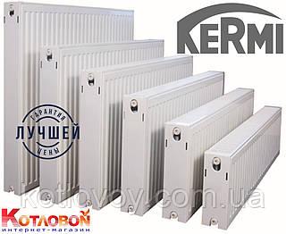 Стальные радиаторы Kermi (Керми) 11, 500х1100, FKO (с боковое подключение и внутренняя резьба ½″), белый