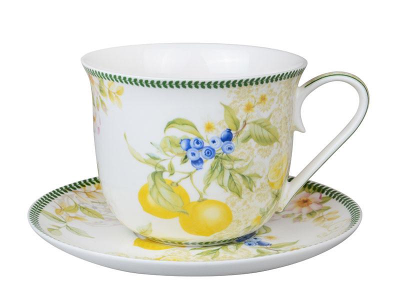 "Чайный набор 2 предмета ""Лимон"" 500 мл, Lefard, 924-386"