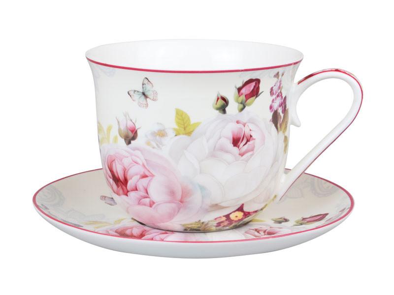 "Чайный набор 2 предмета ""Пион"" 500 мл, Lefard, 924-387"