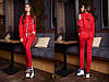 Стильный костюм с манжетами выполнен из двухнитки. Размер: С,М. Цвета разные (2156), фото 7
