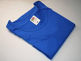 Классическая мужская майка 61-098-0 Ярко-синий, 3XL