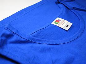 Классическая мужская майка 61-098-0 Ярко-синий, 3XL, фото 3
