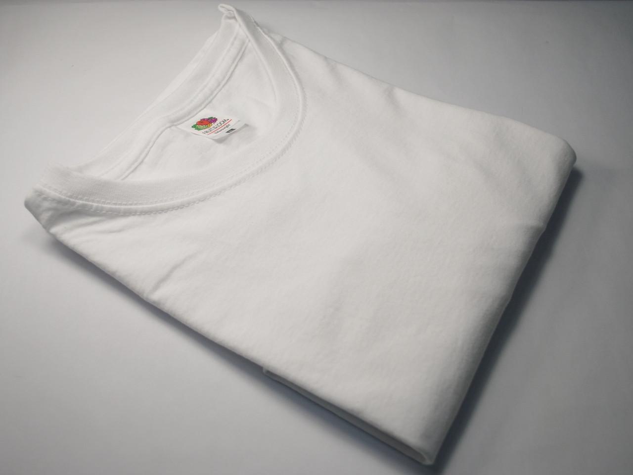 Мужская футболка без рукавов Белая размер 5XL 61-222-30