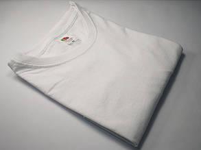Мужская футболка без рукавов Белая размер 5XL 61-222-30, фото 2