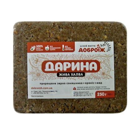 """Живая халва на меду """"Дарина"""" 250 г"""