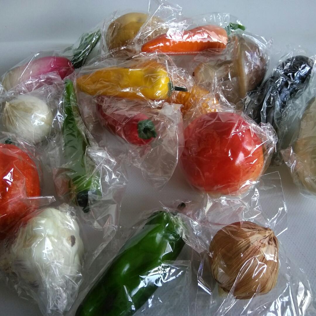 Декоративные овощи крупные микс
