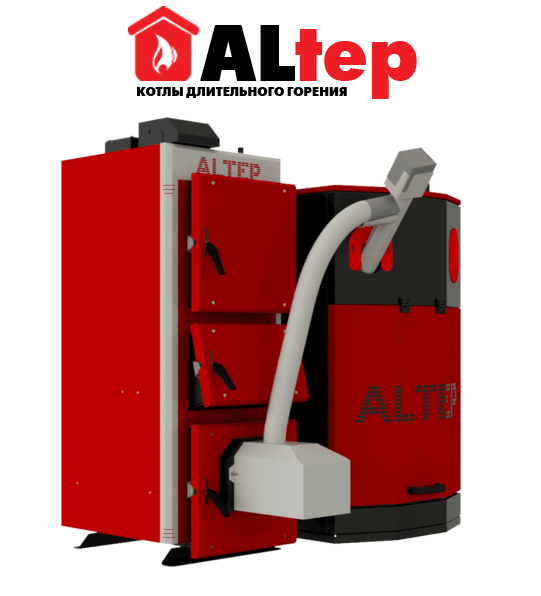 Котлы с автоматической подачей топлива altep (альтеп) - украина