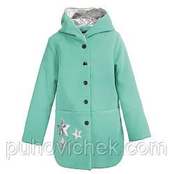 Весеннее пальто для девочки  размеры 128-146