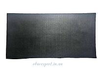 Полиуретан обувной  300х150х2 мм, рис. Сетка, цв. черный, рифленый