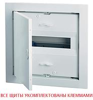 Распределительный щит на 12-14 модуля внутренней установки с металлической дверцей АВВ UK612F3