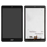 Дисплейный модуль (дисплей + сенсор) для Acer Iconia One 8 B1-820, черный, оригинал