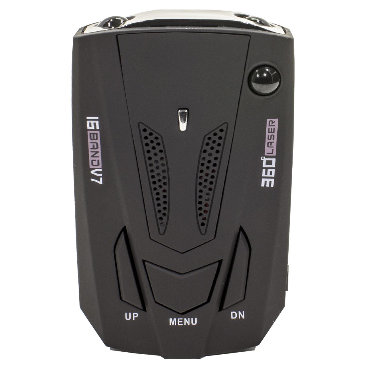 Антирадар Tilon V7 Black защита от детектирования цифровой дисплей радиус обнаружения 360 градусов