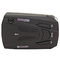 Антирадар Tilon V7 Black радар-детектор скорости спидометр цифровой дисплей 360 градусов, фото 2