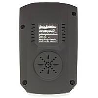 Антирадар Tilon V7 Black радар-детектор скорости спидометр цифровой дисплей 360 градусов, фото 5