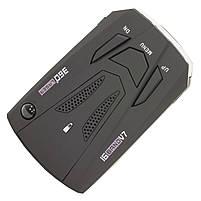 Антирадар Tilon V7 Black радар-детектор скорости спидометр цифровой дисплей 360 градусов, фото 6