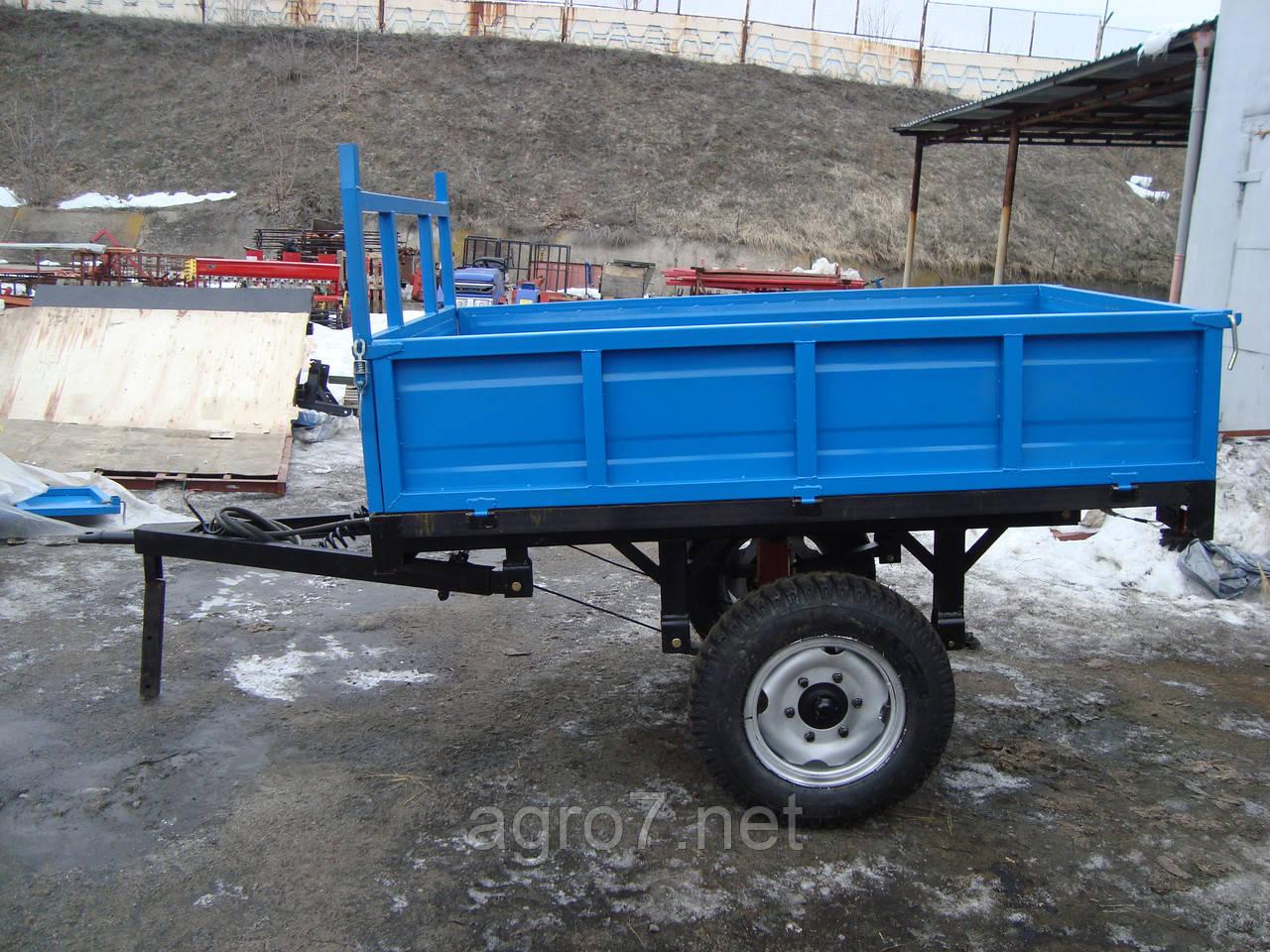 Прицеп тракторный 1ПТС-2(самосвальный, 2т.)