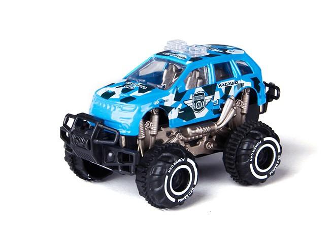 Інерційна іграшка YOU SHENG Cross Country Beast Police дитячий автомобіль 1:64 Синій (SUN3445)