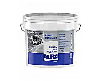 Эмаль акриловая AURA LUXPRO REMIX FORUM 70 для деревянных и бетонных полов белая - база А 0,75л