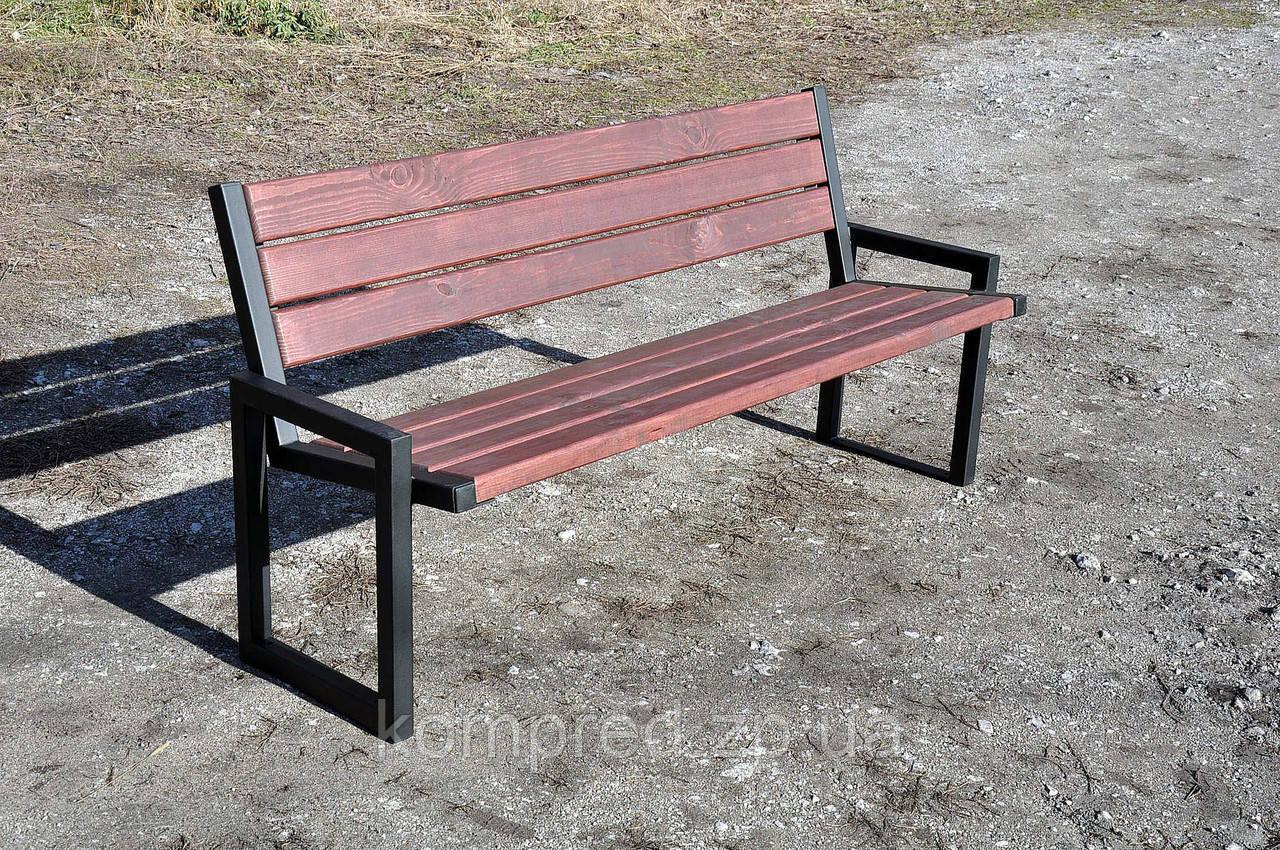 Скамейки со спинкой из дерева фото обладает приятным