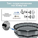 Каркасный бассейн Intex 26706 Prism Frame 305 x 99 см насос 2 006 л/ч, лестница, фото 5
