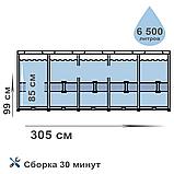 Каркасный бассейн Intex 26706 Prism Frame 305 x 99 см насос 2 006 л/ч, лестница, фото 7