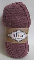 Пряжа  Alize Alpaca Royal, цвет - сухая роза.