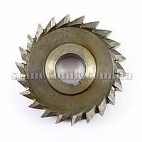 Фреза дисковая 3-х сторонняя 100х36х27 мм Р18 прямой зуб