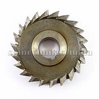 Фреза дискова 3-х стороння 100х36х27 мм Р18 прямий зуб