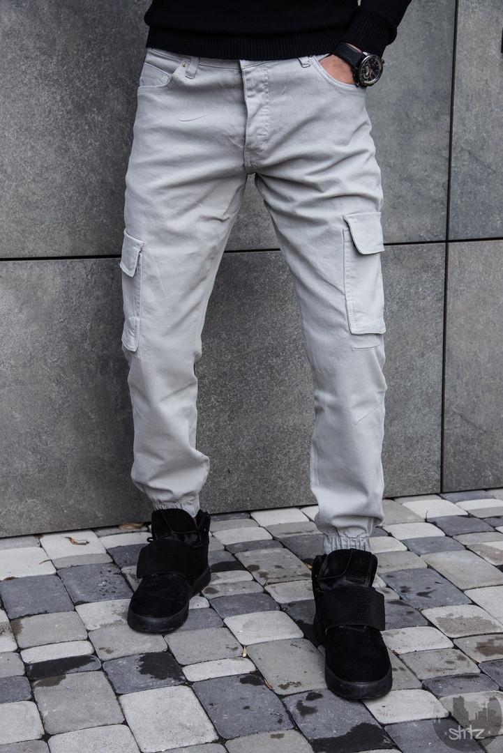 a44c56f1dc9 Мужские Штаны Карго Black Island Cargo Pants Турция Мужские Турецкие Серые  Брюки Карго Новые
