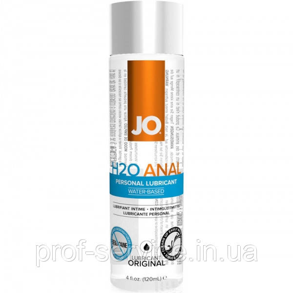 Анальная смазка на водной основе System JO ANAL H2O - ORIGINAL (120 мл)