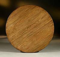 Столешница из массива дерева круглая, фото 1