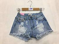Шорты джинсовые для девочек оптом, F&D, 24-28 рр.,  № 1509, фото 1