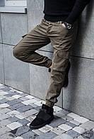 Мужские Штаны Карго Black Island Cargo Pants Турция Мужские Турецкие Брюки Хаки Карго Новые