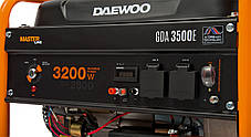 Генератор бензиновий Daewoo GDA 3500E (3,2 кВт), фото 3