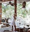 Платье-туника пляжные с кружевными вставкам (1 цвет), фото 2